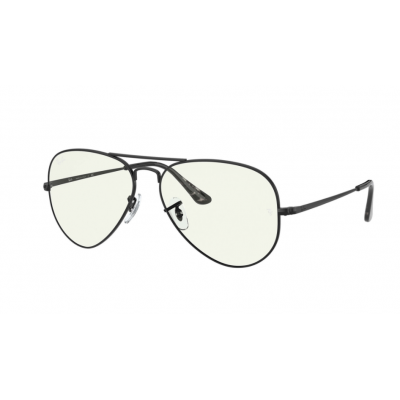 RAY BAN AVIADOR METAL II RB 3689 9148/BF 58 BLUE-LIGHT CLEAR